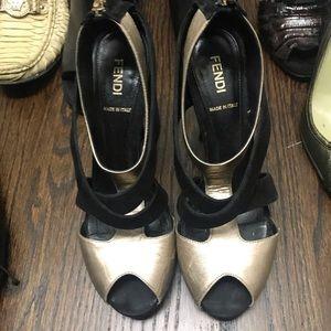 FENDI open toe beauties size 37.5